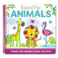 Stencil Fun Animals - Packed with animals to learn and draw
