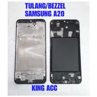 FRAME DUDUKAN TULANG TENGAH LCD SAMSUNG GALAXY A20 A205 A205F ORIGINAL