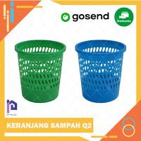 KERANJANG SAMPAH / TEMPAT SAMPAH / TONG SAMPAH / BIN - PLASTIK Q2