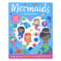 Mermaid Activity Book With 3-D Felt Stickers! (Packed With Sweet Activ