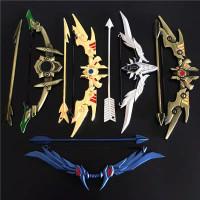 Gantungan Kunci Senjata Busur Panah Anime Game King Glory/Miniatur