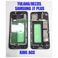 FRAME DUDUKAN TULANG TENGAH LCD SAMSUNG GALAXY J7 PLUS C7100 C7 2018 C