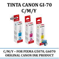 Tinta Canon GI 70 C/M/Y - High Quality Ink