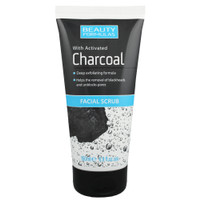 Beauty Formulas with Activated Charcoal Facial Scrub 150 Ml BPOM