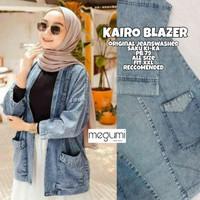 Kemeja Jeans Wanita Kairo Blazer