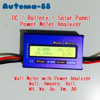 DC Watt Meter Volt Ampere kwh meter 60 Volt 100A