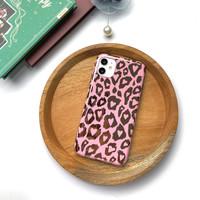 Pink Leopard Case iPhone 7+/8+/X/Xs/Xs Max/Xr/11/11 Pro/11 Pro Ma