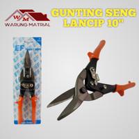 Gunting Holo Eiffel 10inchi/Gunting Baja Ringan/Gunting seng