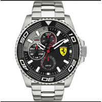 Scuderia Ferrari Analog Black Dial Men's Watch - 0830470