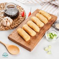 Pempek Lenjer Rumah Iwak Asli Palembang / Frozen Food (Isi : 10 pcs)