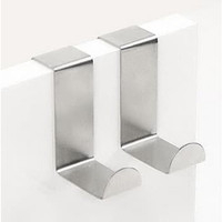 Gantungan Pintu Stainless isi 7 Pcs - Door Hook Stainless Steel