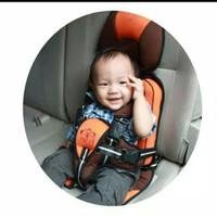 Portable Kiddy Baby Car Seat Carseat - Orange