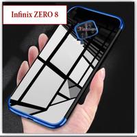 Infinix ZERO 8 Softcase Soft Case Casing Cover Kesing Plating Bening