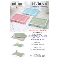 Noona Pets - Pet Toilet tray untuk Pipis Poop anjing