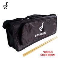Tas Softcase Stick Drum BRANDOS Gigbag Stik SCD-08 BRANDOS STKD