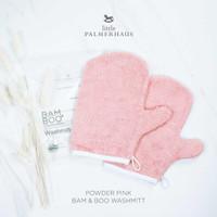 Little Palmerhaus - Premium Bam & Boo Wash Mitt POWDER PINK