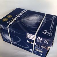 kertas HVS A3 70gr Bola Dunia (1 box = 5 rim)