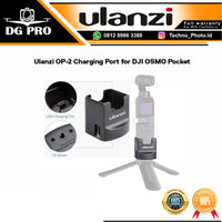 ULANZI OP-2 OP2 Charging Port for DJI OSMO Pocket with Tripod Base 1/4