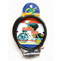 Gembok Kunci Sepeda Kombinasi 4 Angka Helm - Sepeda - Motor