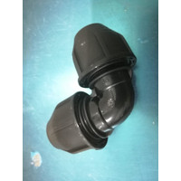 "Fitting HDPE Elbow / Knee / Siku COmpress ukuran 25 mm x 25 mm (3/4"")"