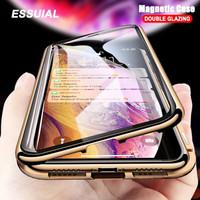 IPHONE 11 PRO Premium Magnetic Full 360 Cover Depan Belakang Glass