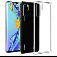 huawei P30 pro jelly clear ultra bening softcase - clear