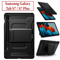 Samsung Tab S7 S7 Plus Armor Slim Case Casing Spigen Stand Cover Kuat