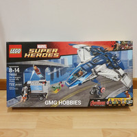 LEGO 76032 THE AVENGERS QUINJET CITY CHASE MARVEL SUPER HEROES MISB