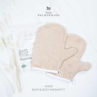 Little Palmerhaus - Premium Bam & Boo Wash Mitt SAND