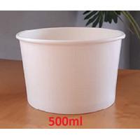 Paper Bowl/Mangkok kertas 500ml/khusus luar kota