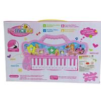 Mainan Anak Piano Musik Electronic Organ with USB Charging Cable