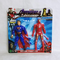 Mainan Robot Avengers Heroic Fighters isi 2