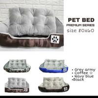 Bed tempat tidur ranjang anjing ukuran besar 80 x 60cm