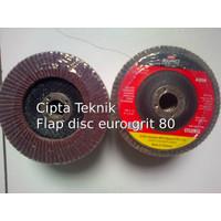 Mata Gerinda Amplas Flap Disc euro 4 inchi grit 80