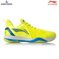 New Sepatu Badminton Lining Storm II AYZQ003-2 Flashing Bright Green