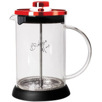 BERLINGER HAUS COFFEE TEA PLUNGER BURGUNDY / PEMBUAT TEH KOPI 600 ML