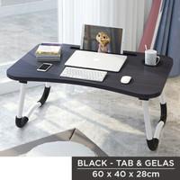 meja lipat komputer laptop foldable