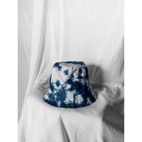 Abstract Shibori Bucket Hat (bucket hat tie dye, bucket hat shibori)