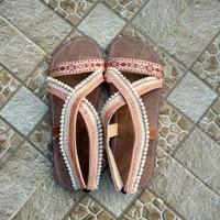 Sandal Boho Santai Cewek Tali Cantik
