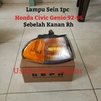 Lampu Sen Sein Corner Lamp 1pc Kanan Civic Genio 92-95 (Putih Kuning)