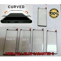 Samsung S8 Curve Full Glue Tempered Glass Anti Gores Kaca Melengkung