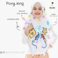 Minime Kidz/ Pony King Instan Hijab/ Jilbab Anak Instan