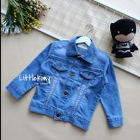 jaket jeans anak sanwash / jaket unisex / Avril blitz jaket PREMIUM