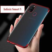 Infinix Smart 5 Softcase Soft Case Casing Cover Kesing Plating Bening