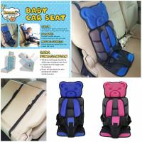 Saneoo Bear Baby car Seat - Blue
