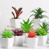 kaktus latex kaktus SUKULEN bunga plastik artificial dekorasi rumah