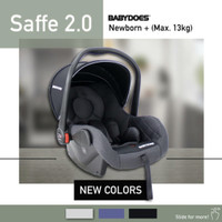 Car Seat / Carseat Babydoes Baby Does Saffe 2.0 - Grey
