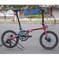 ELEMENT TROY 10 SPEED EDITION RED BLUE (16″)