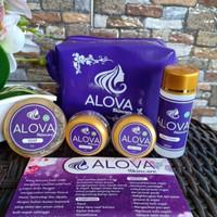 Paket Skincare Alova Original Perawatan Wajah untuk Semua Jenis Kulit