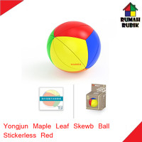Rubik Yeet Ball Yongjun Maple Leaf Stickerless Red / YJBLSR